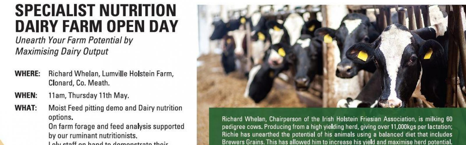 Specialist Nutrition Open Day